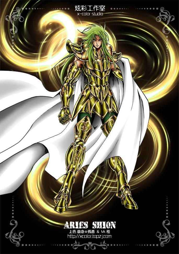 Saint Seiya - Gold Saint Aries no Shion