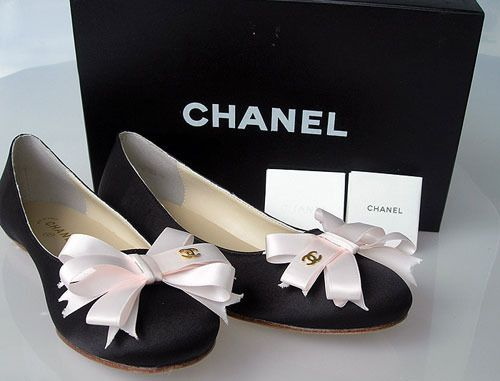 ZsaZsa Bellagio: chanel Bow flats!!!! Just your style!!!