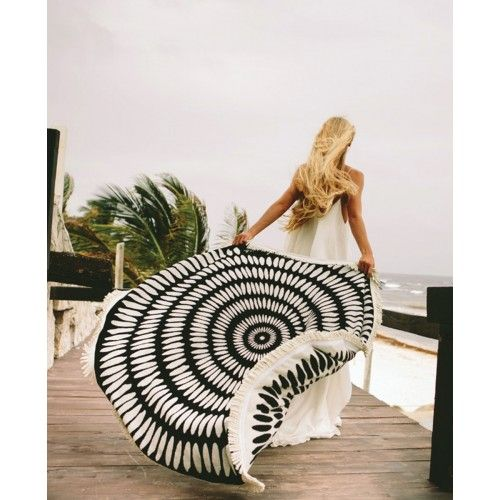 The Tulum Round by The Beach People | Beach Towels - Hunters and Gatherers