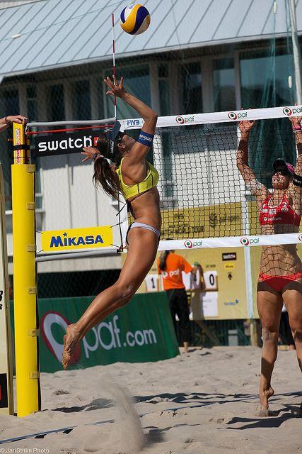 Beach volleyball! #fittodo