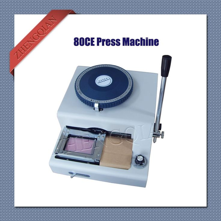 743.00$  Buy here - http://alinf3.worldwells.pw/go.php?t=32614483904 - Manual 80 character letterpress id pvc card embosser  machine convex and concave integrate 743.00$