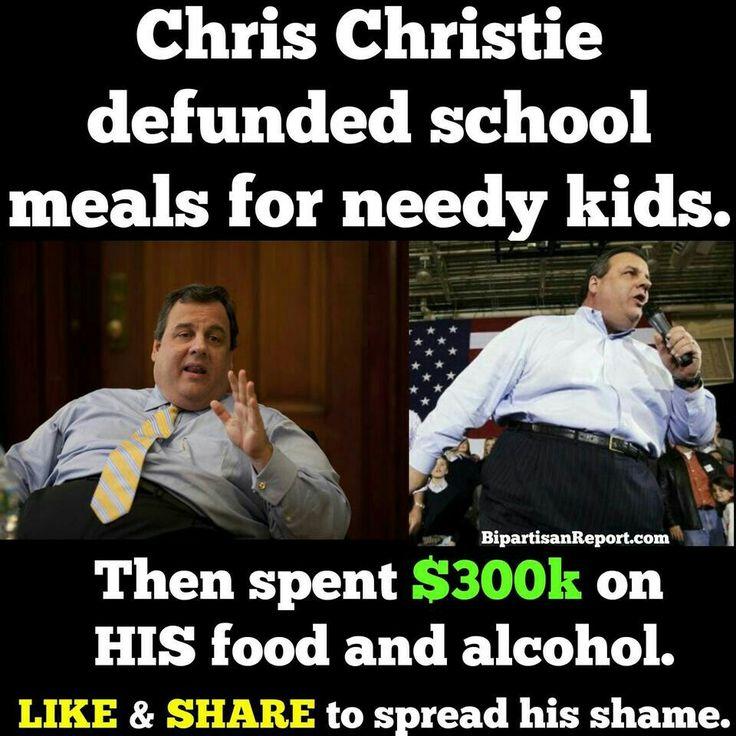 3ae132b21d24f9cc12a61014efa2031c chris christie kid lunches 157 best chris christie memes images on pinterest chris christie