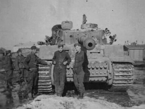 Tiger 1 of s.Pz.Abt 502, Eastern Front | WW2 tanks | Flickr