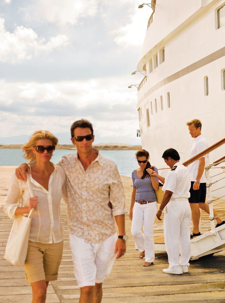 Explore new destinations  #visoncruise #cruise #seabourn