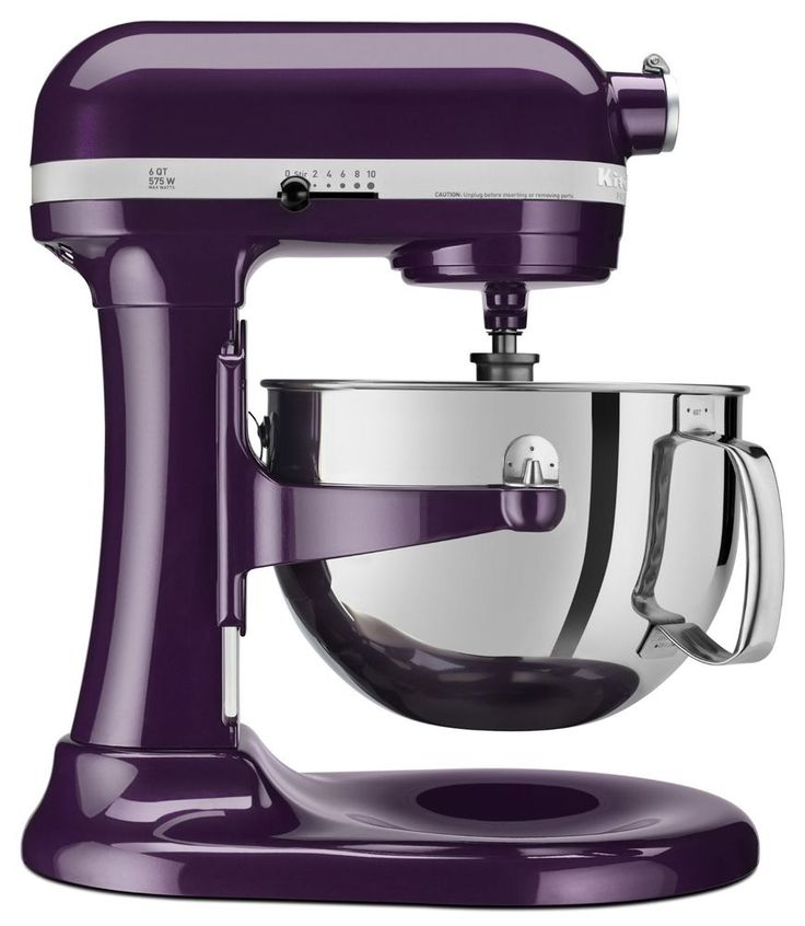 New kitchenaid pro 600 6 quart mixer plum berry purple for Kitchenaid f series accessories