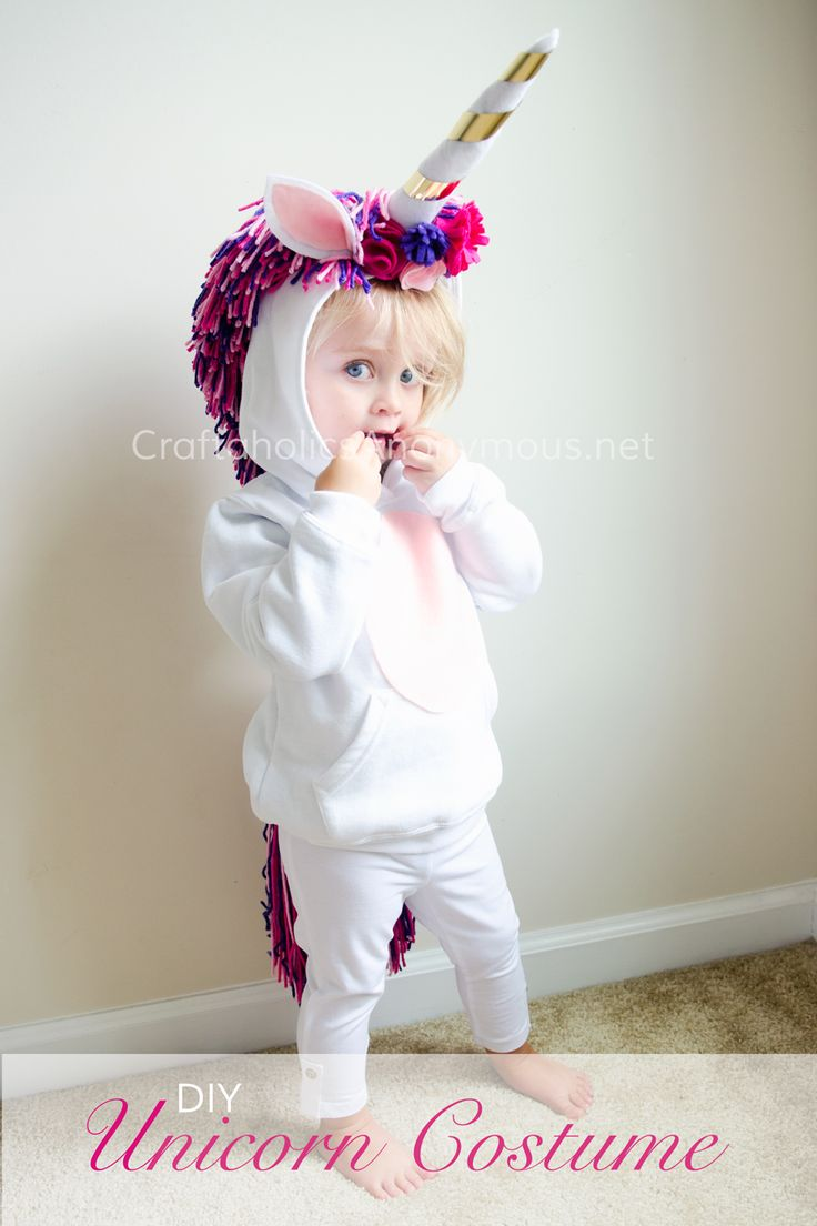 diy unicorn costume tutorial costumes for halloweenhalloween kidscostume - Kids Halloween Costumes Pinterest