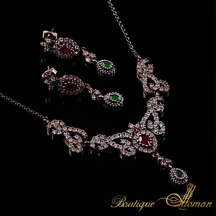 #ottoman Handmade Hareem Set  #jewelry #ottoman