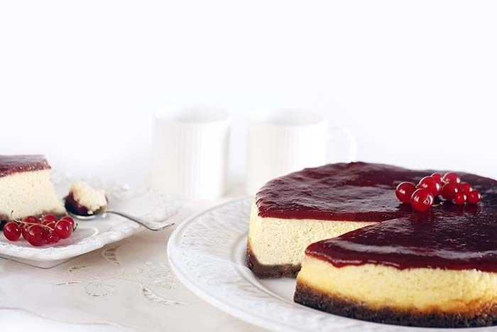 Crockpotting | Receta de cheesecake o tarta de queso en Crock Pot | http://www.crockpotting.es