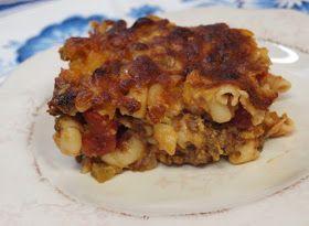 Johnny Marzetti casserole | Food | Pinterest