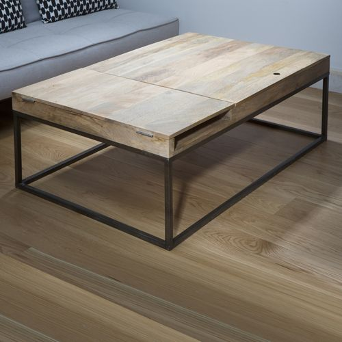 1000 id es sur le th me table avec rallonge sur pinterest - Table basse bois rectangulaire ...