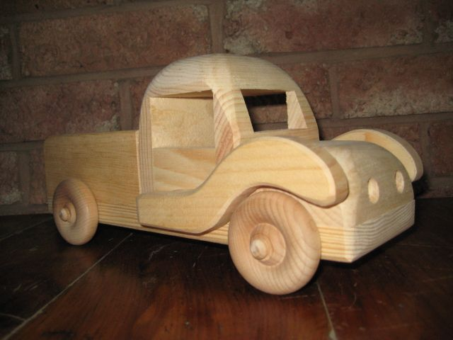 Wooden Pick Up Truck Toy.