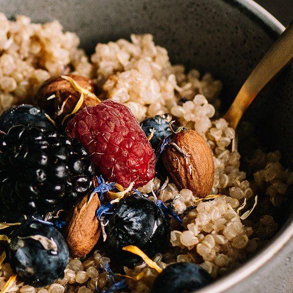 Porridge Glutenfrei --------- Herzerwärmender Frühstücksbrei mit Quinoa