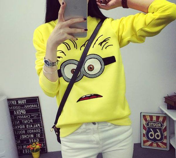 KOREAN SWEATER/AK908 ₱39O.OO Minion sweater : Free size fits small - medium frame http://besmartshopphcom.mysimplestore.com/products/korean-sweaterak908