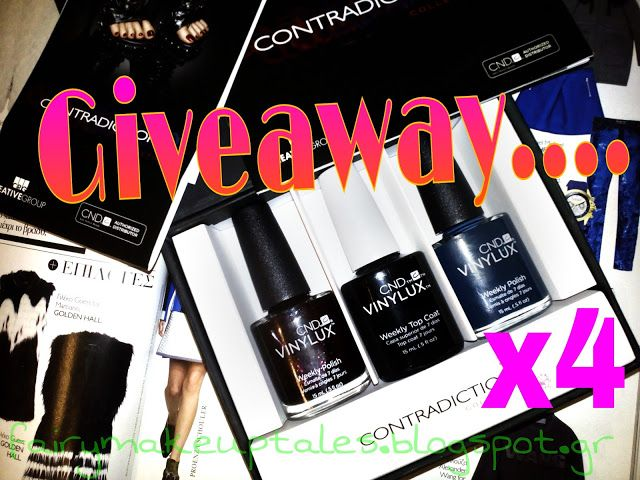 Fairy make-up tales . . . . : Vinylux Giveaway x 4!
