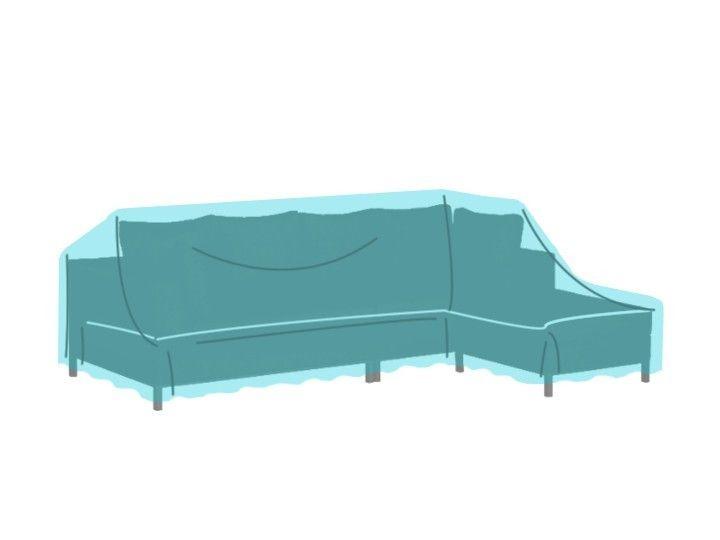 TOM Lounge Gartenmöbel Schutzhülle Für Sofa 3 Sitzer