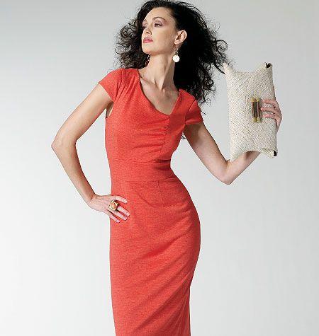 Vogue 8787 elegante jurk