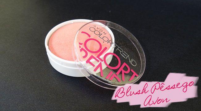 Blush Avon Color Trend Pêssego R$17.99