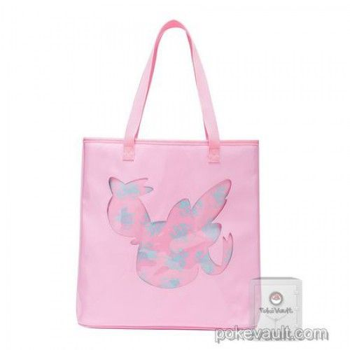 """Pokemon Center 2017 Eevee Collection """"Colorful"""" Campaign Sylveon Large Tote Bag"""