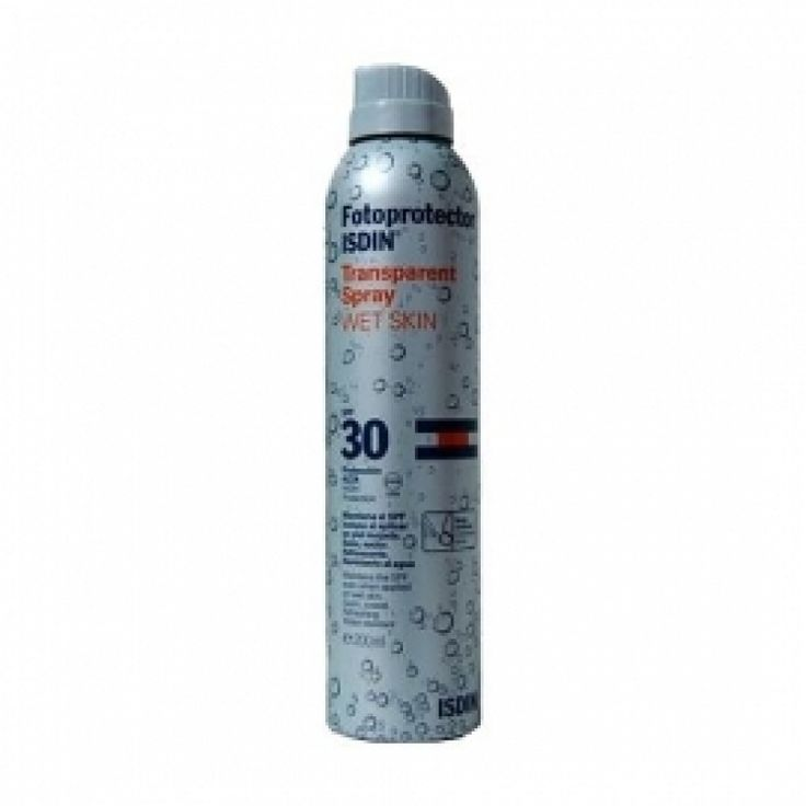 Isdin Spray Transparente SPF30 Wet Skin 200ml