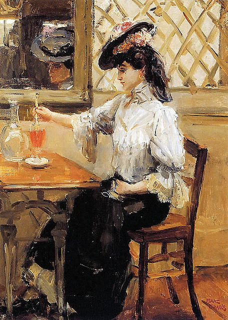 [ I ] Isaac Israëls - Woman in a cafe (1896) | Flickr - Photo Sharing!