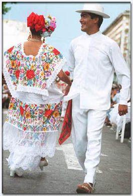 Baile tradicional de Yucatán Mexico
