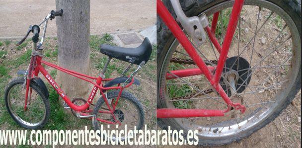 Una mañana de domingo, buen día para adquirir una Orbea Bicicross ¿ no ? Propiedad de componentes bicicleta baratos en Zaragoza.