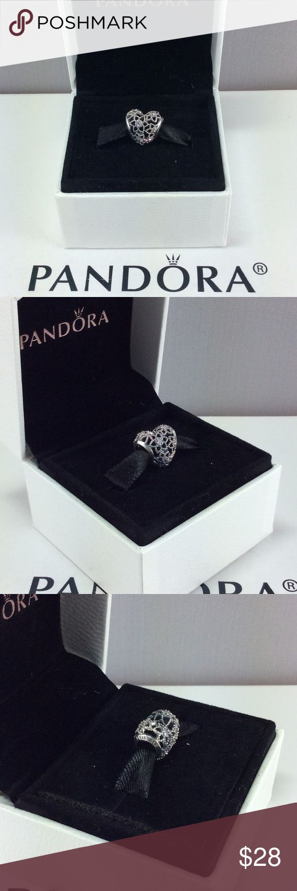 Pandora Blooming Heart Charm Authentic Pandora Blooming Heart Charm   Pandora Charms. Pandora New Charms. Pandora Retired Charms. Pandora Bracelets.  Signature markings Ale S925  Condition: New   Retail: $35.00 + tax   🔵PRICE IS FIRM UNLESS BUNDLED  ⚫️NOT ACCEPTING LOWBALL OFFERS!!! 📦BOX INCLUDED IN THE SALE Pandora Jewelry Bracelets