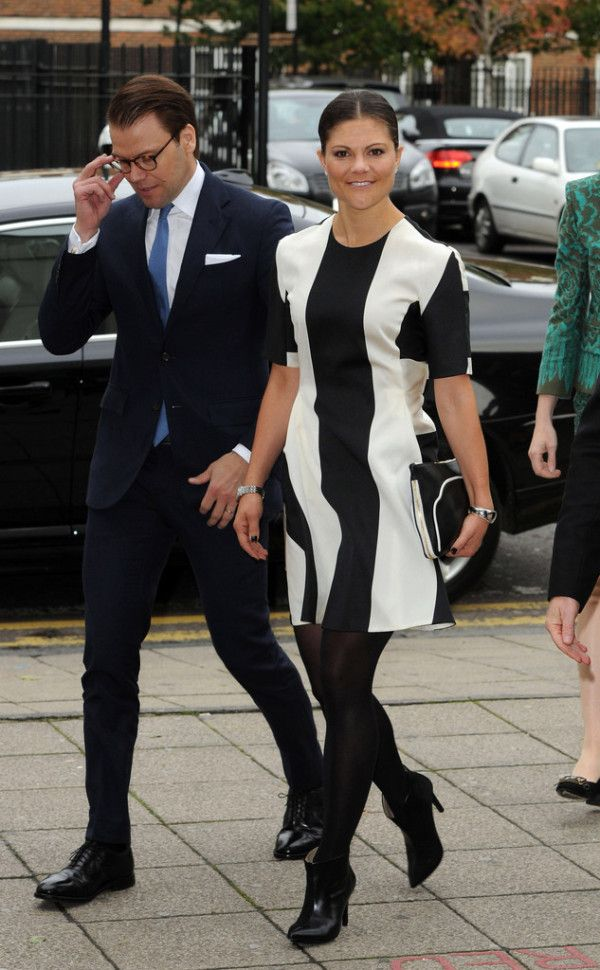Fabulously Spotted: Princess Victoria of Sweden Wearing Stella McCartney - Hackney Community College  - http://www.becauseiamfabulous.com/2013/11/fabulously-spotted-princess-victoria-sweden-wearing-stella-mccartney-hackney-community-college/