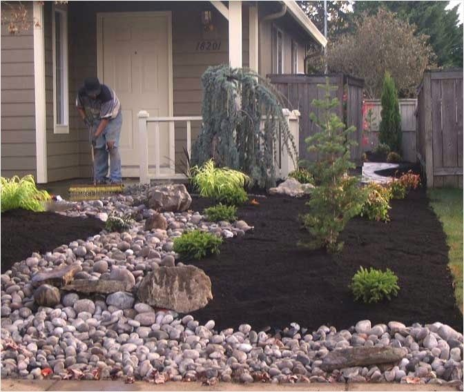 No Lawn Front Yard Landscaping Small Yard Landscaping Small