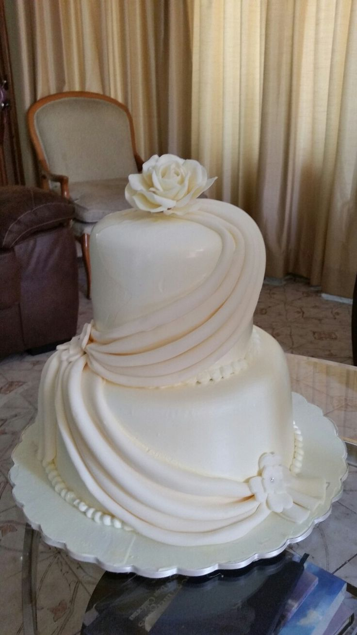 Pareja tarta de crema