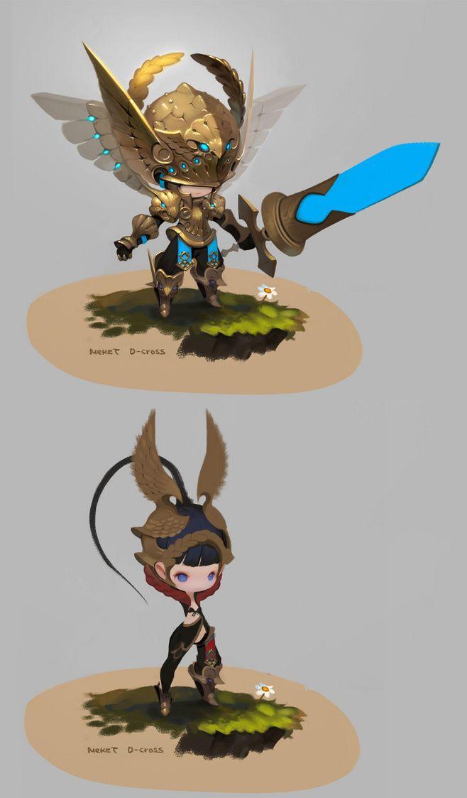 고독한가정부 : 일류그래퍼!!(예정)@波波纹采集到Character Design | Q(1530图)_花瓣插画
