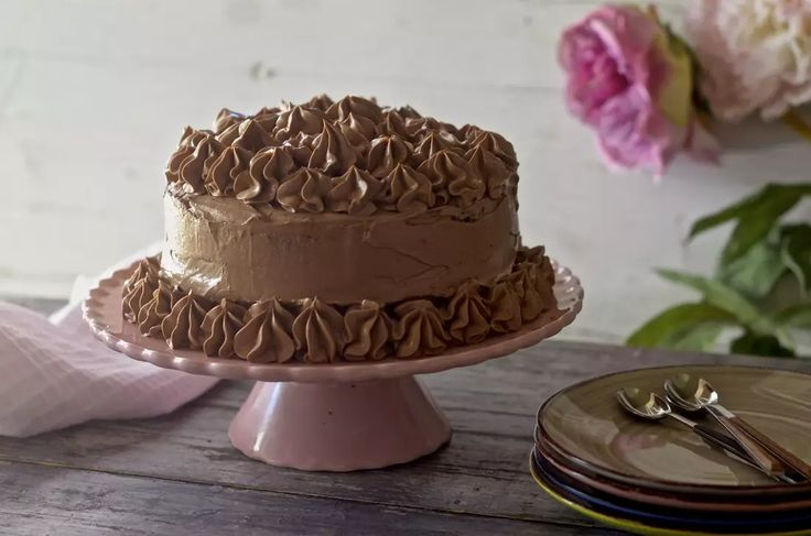 Tarta de chocolate y moka. Video receta