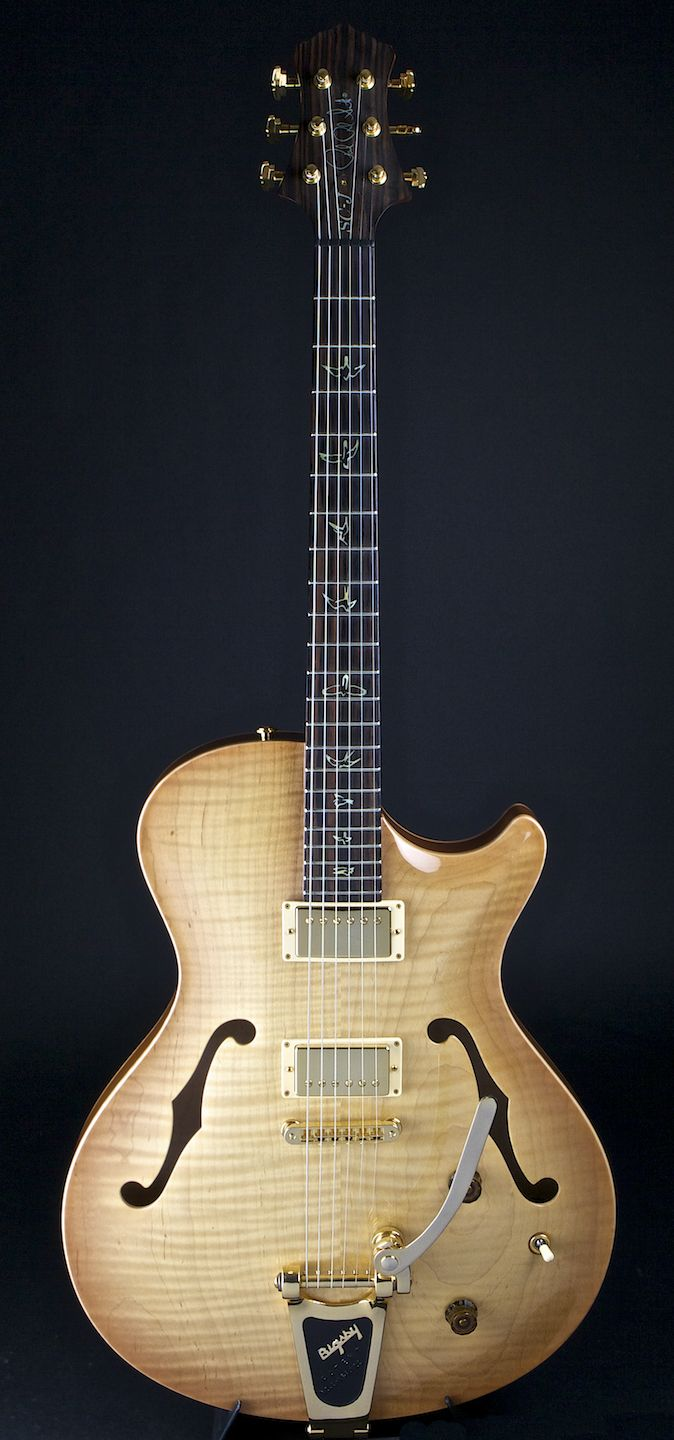 PRS SCJ Vintage Natural with Bigsby | World Guitars