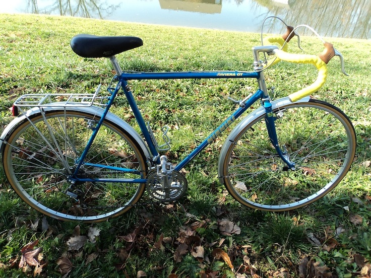Early 80 S Nishiki Riviera Gt Vintage Touring Bicycles