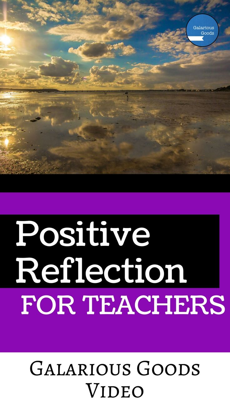 Teacher reflection video looking at ways teachers can engage in positive reflection and why it's important to make the time to do that. Follow Galarious Goods for more teaching ideas, tips, strategies and activities