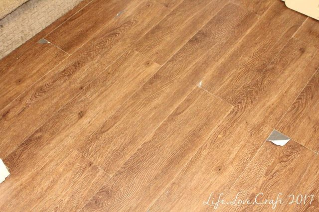 How well does stick on vinyl flooring last in a high traffic area? This is an update after two years...