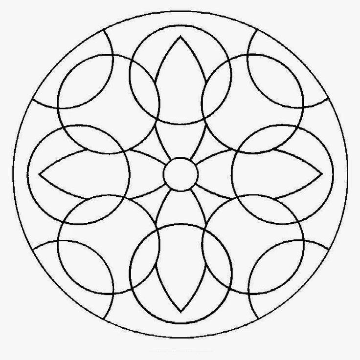 Mandalas Para Pintar: mandalas para colorear