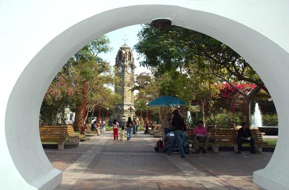 Civic center and Square, Antofagasta, Chile. http://bit.ly/4FRgBx