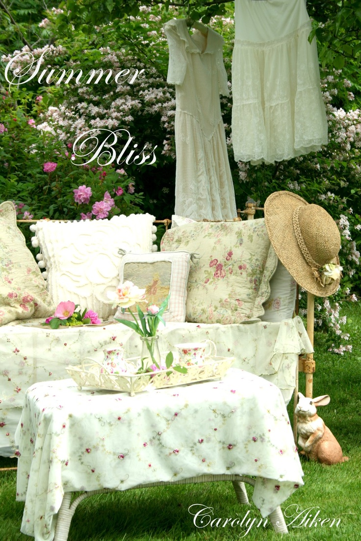 Shabby Chic Garden Tea