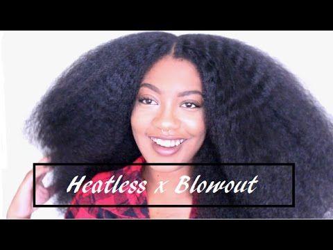 Heatless BLOWOUT |Natural Hair