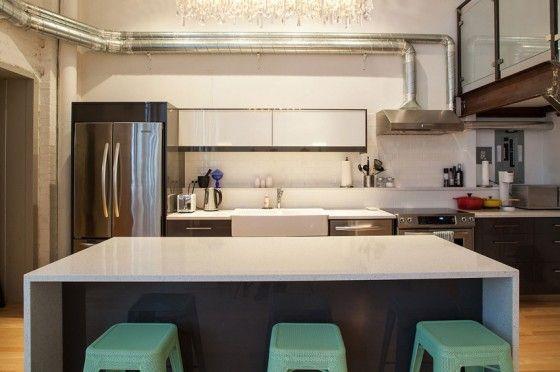 Diseño de cocina apartamento pequeño