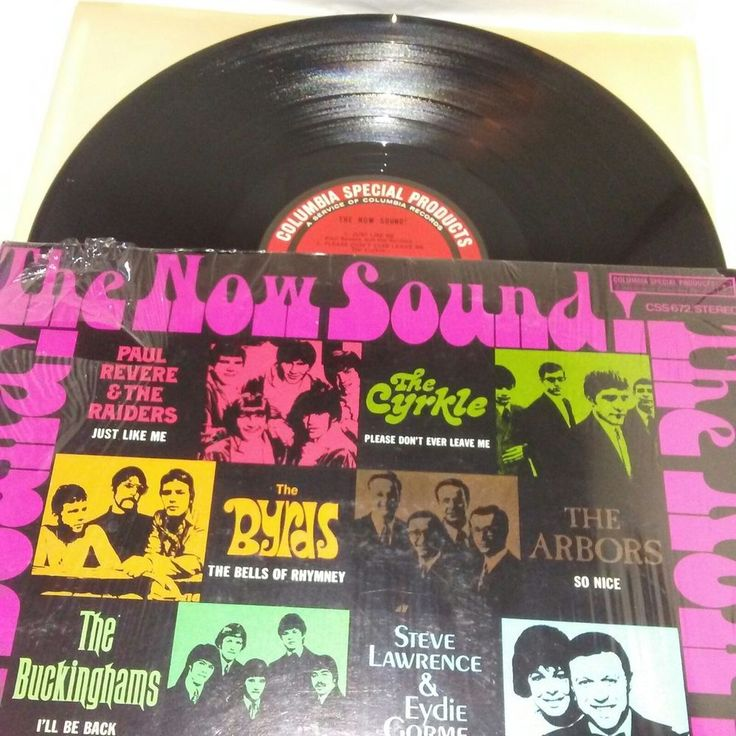 The Now Sound POP ROCK MUSIC Various Artists Vinyl LP CSS 672 Ex has Shrink open
