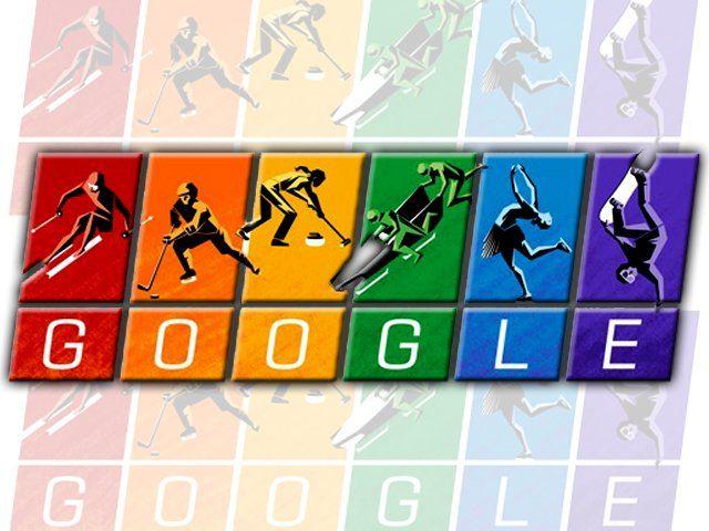 """El gigante tecnológico Google expresó este febrero 7 de 2014 su apoyo a la comunidad gay con un """"doodle"""" arcoiris dedicado a los Juegos Olímpicos de Invierno que arrancan en la ciudad de Sochi, en Rusia, un país cuestionado por sus leyes contra los homosexuales."""
