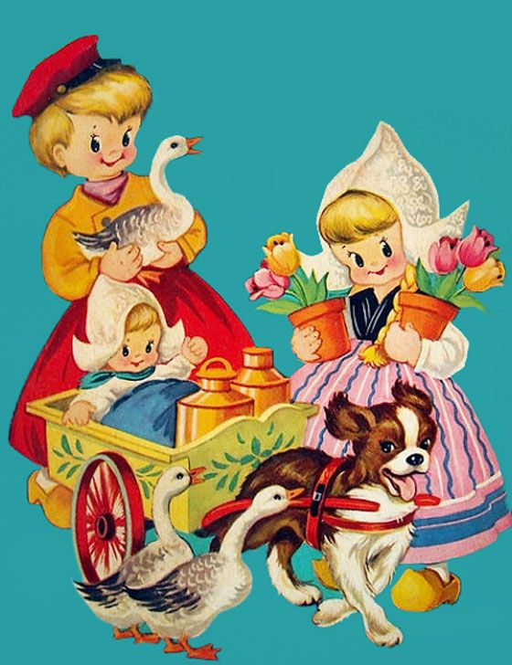 My Vintage Mending: Betsy Booth: Vintage Postcards, Vintage Mendes, Vintage Dutch Darling, Dutch Boys, Vintage Illustrations, Children Illustrations, Dutch Cards, Dutch Girls, Vintage Cards