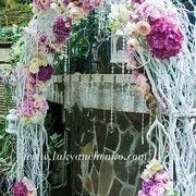 ГАЛЕРЕЯ СВАДЕБНЫХ ОФОРМЛЕНИЙ - Свадебный букет, оформление свадьбы цветами, свадебное украшение зала, свадебные платья с цветами, украшение ...