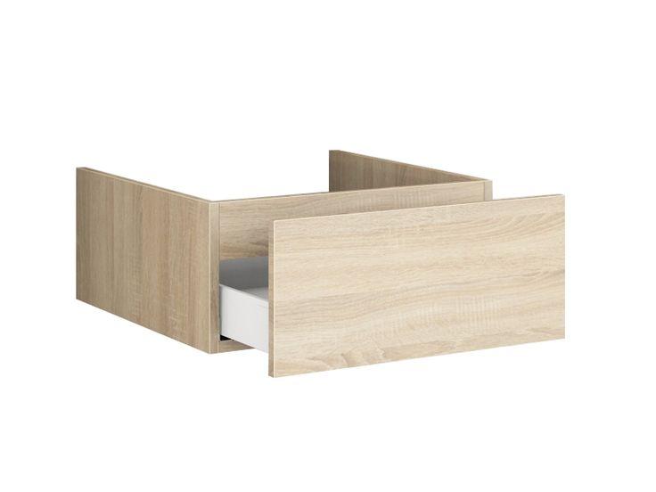 Waschtischplatte Holz Mit Schublade: Runden beistelltisch mit ... | {Waschtischplatte mit schublade 82}