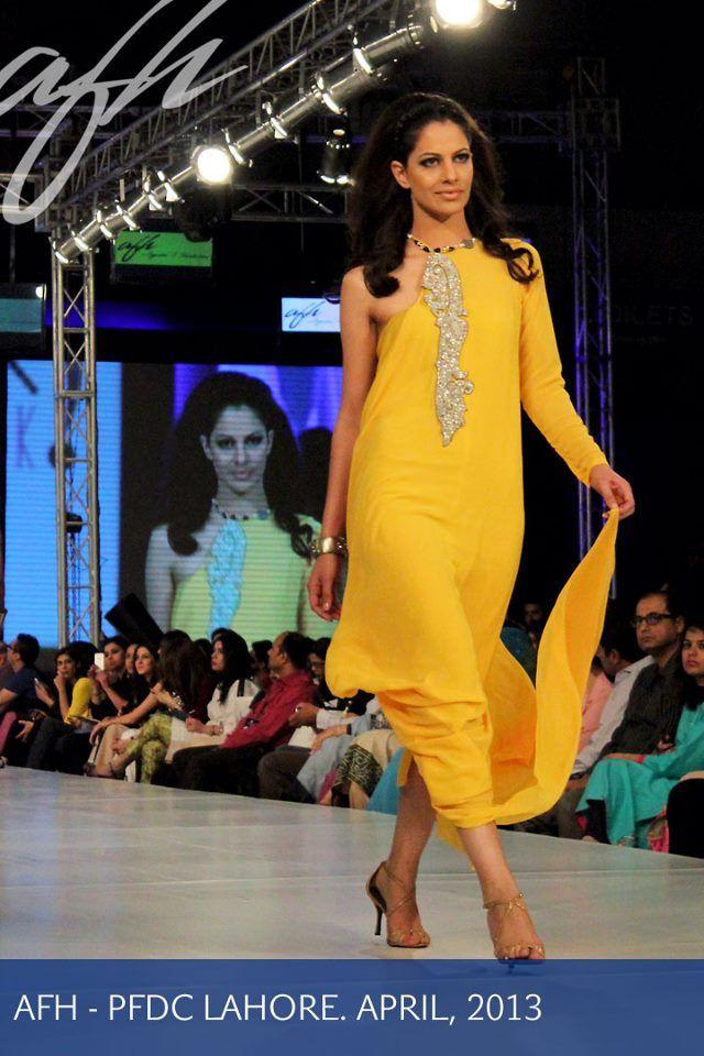 Ayesha Farook Hashwani Show at PFDC Sunsilk Fashion Week 2013