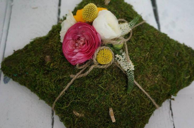 poduszeczka na obrączki#idea for a wedding rings