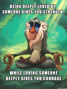 rafiki meditating quotes