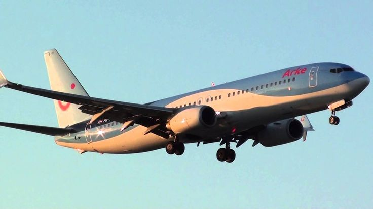 Arkefly Boeing 737-800 PH-TFC Landing Malaga LEMG 'Scimitar Winglets'